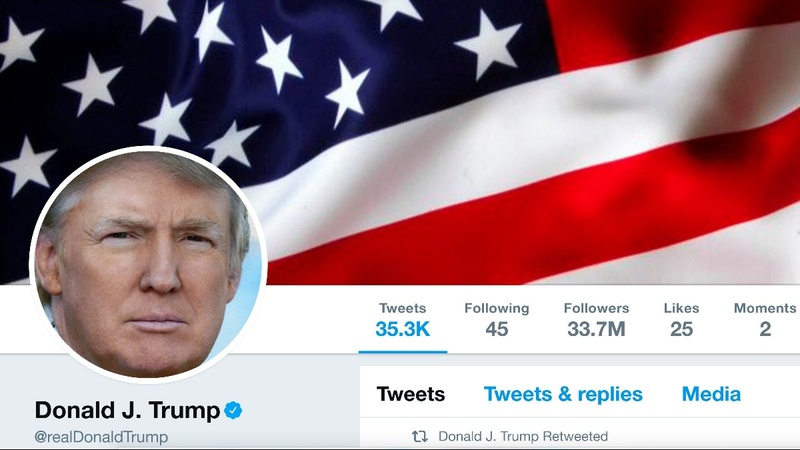 Are Trump's tweets a constitutional question?