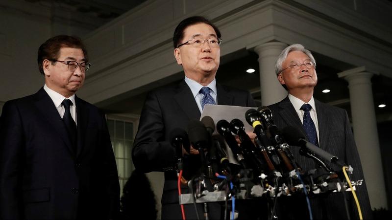 VERBATIM: Trump will meet Kim Jong Un -S. Korean official