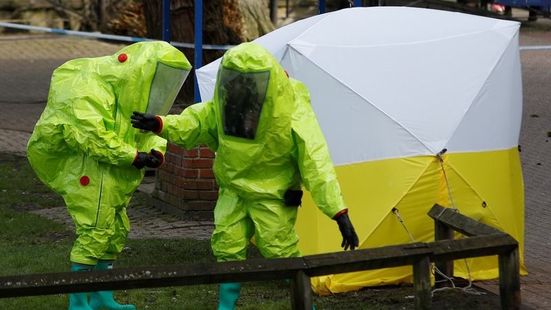 UK troops deployed after Russian spy poisoning