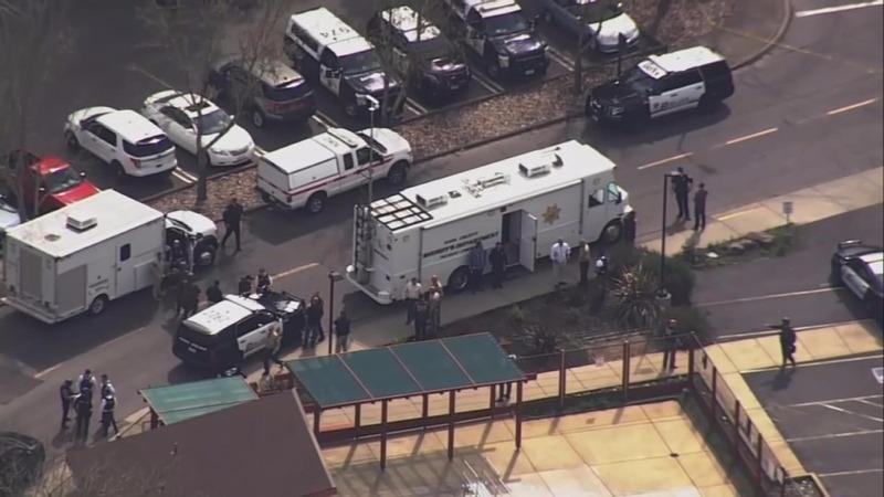 Gunman, three hostages found dead at California veterans' home