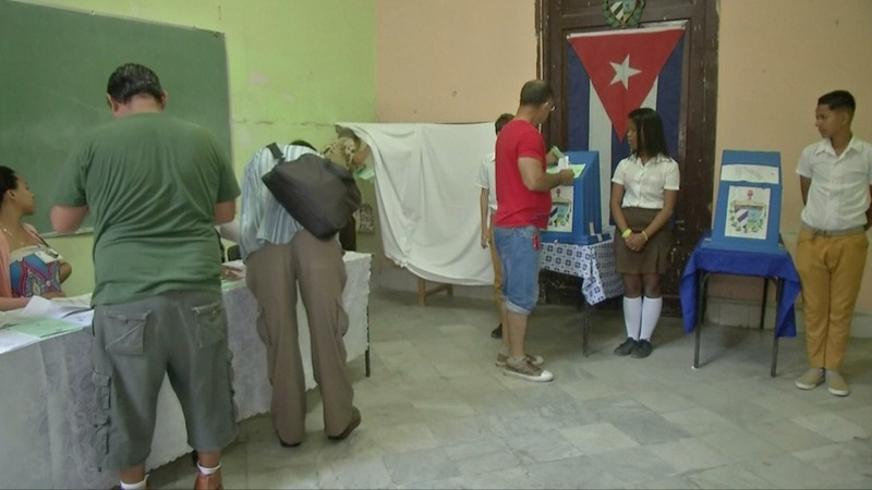 Cubans cast ballots in step toward post-Castro era