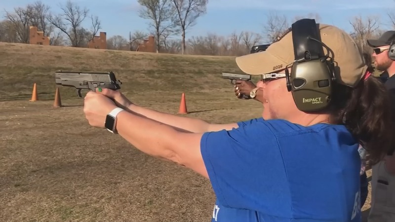 After Florida, Texas teachers take up arms training