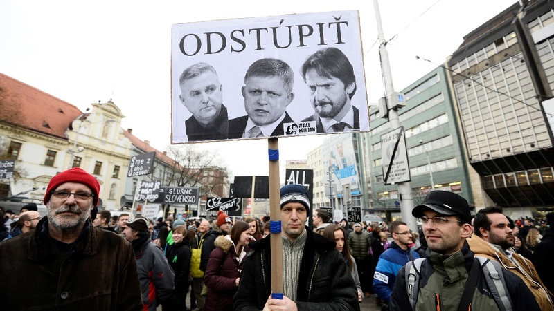 Slovakia is latest European government on a cliff's edge