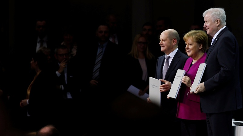 Germany ends months of political uncertainty