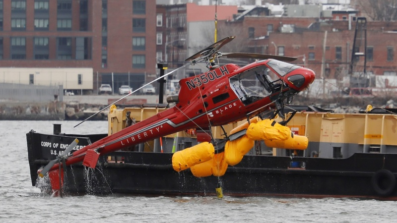 Cause of fatal NYC helicopter crash still unknown: NTSB