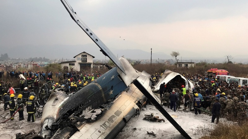 Authorities find black box after a deadly Nepal crash