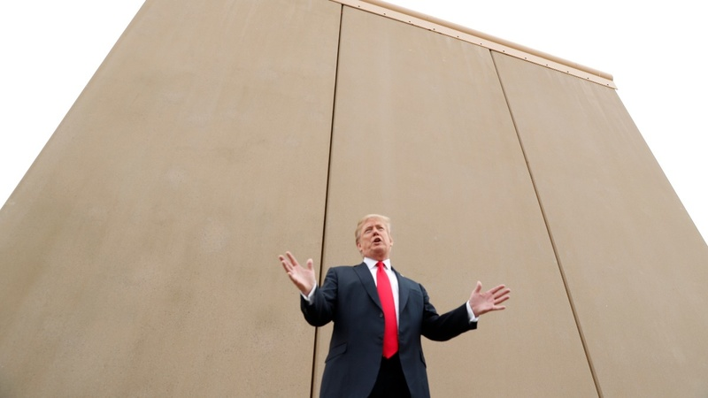 VERBATIM: Trump predicts 'bedlam' without border wall
