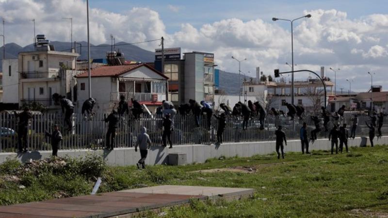 Greece battles surge in Italy-bound stowaways