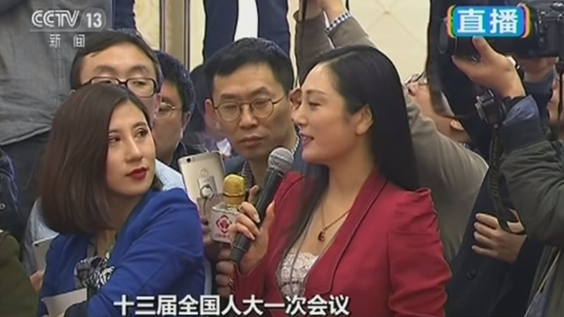 Chinese reporter in hot water for viral eye-roll