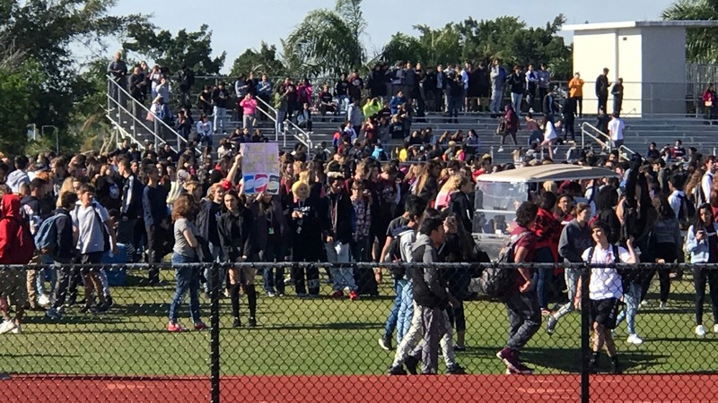 Students demand gun reform in nationwide walkout