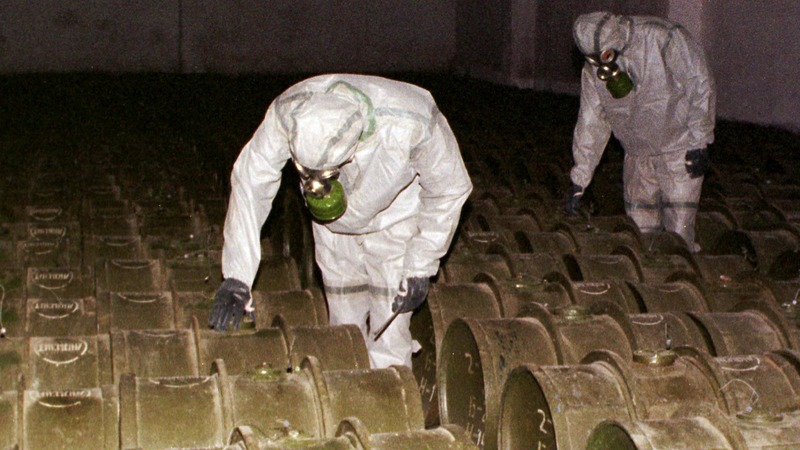Could Russia have lost control of a chemical weapon?