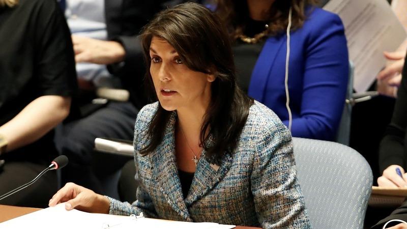 VERBATIM: Russia carried out U.K. nerve agent attack -Haley