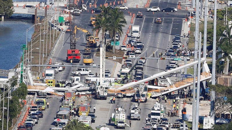 Final victims pulled from rubble in Florida bridge collapse