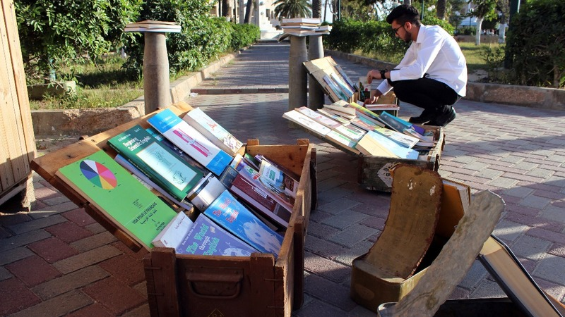 The club promoting books, not bullets, in Libya