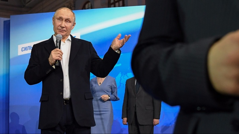 Putin says it is 'nonsense' to blame Russia for UK toxin attack