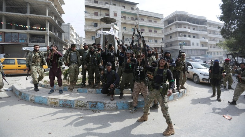 Turkish forces to leave Syrian Afrin region