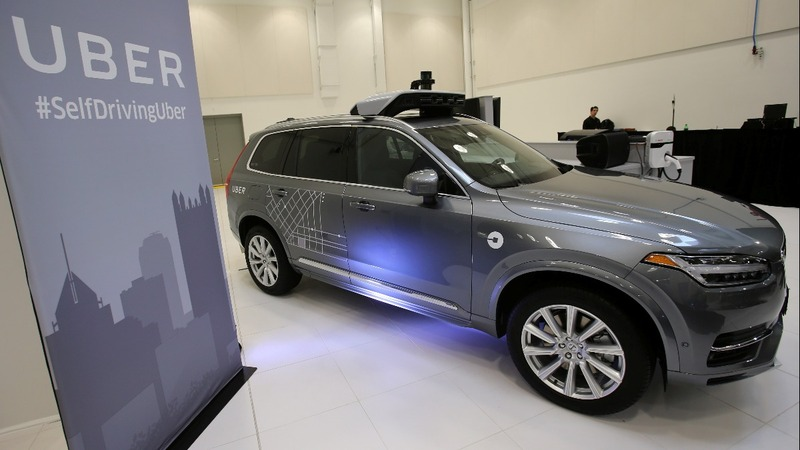 Uber self-driving car hits and kills a woman in Arizona