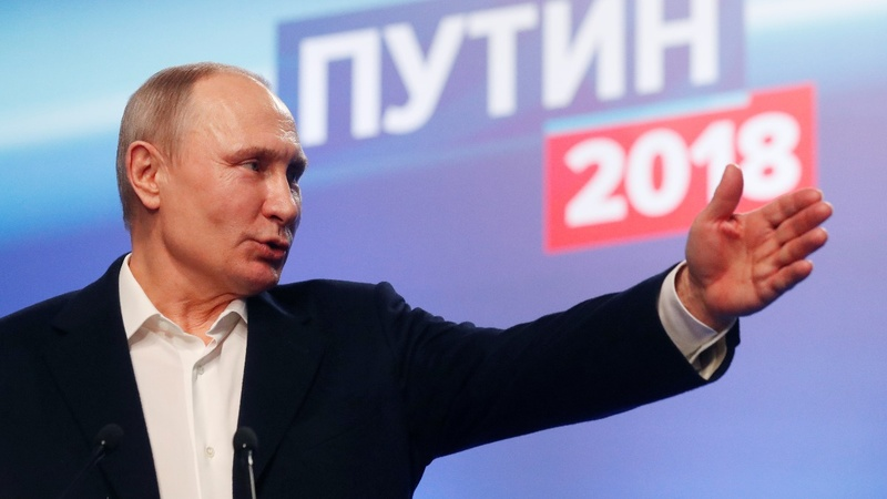 What the numbers say about Putin's election win