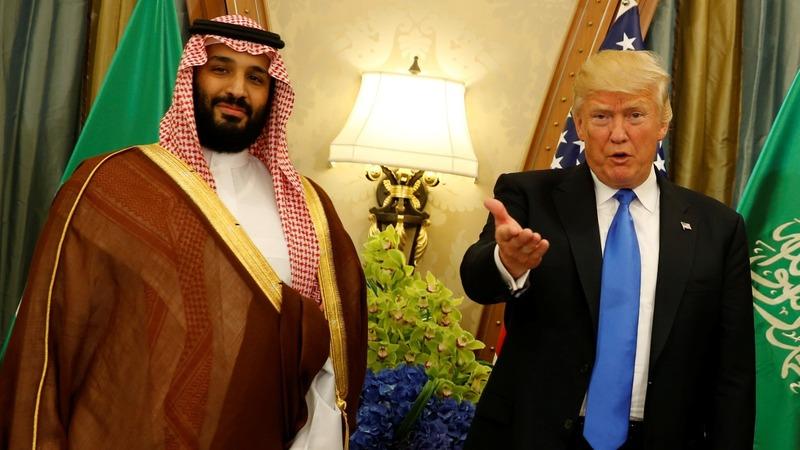 Donald Trump to meet with Saudi Crown Prince