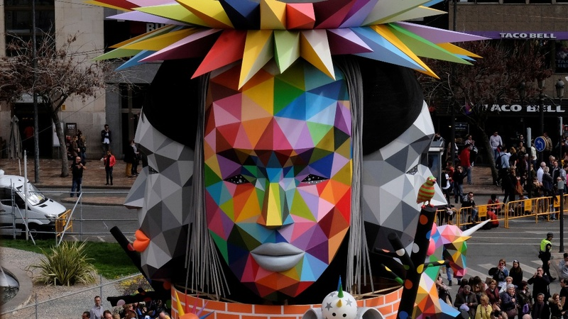 INSIGHT: Hundreds of sculptures burned in Spanish festival
