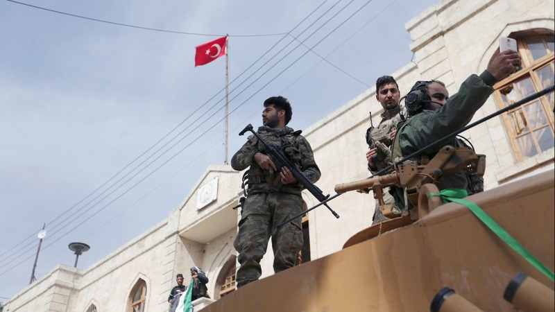 Turkey ramps up it's purge of Kurdish fighters