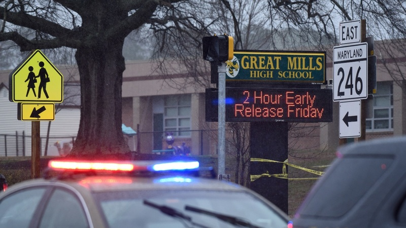 Maryland school shooting comes amid push for gun reform