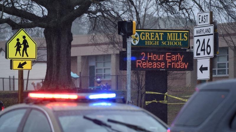 Maryland school shooting comes amid push for gun reform