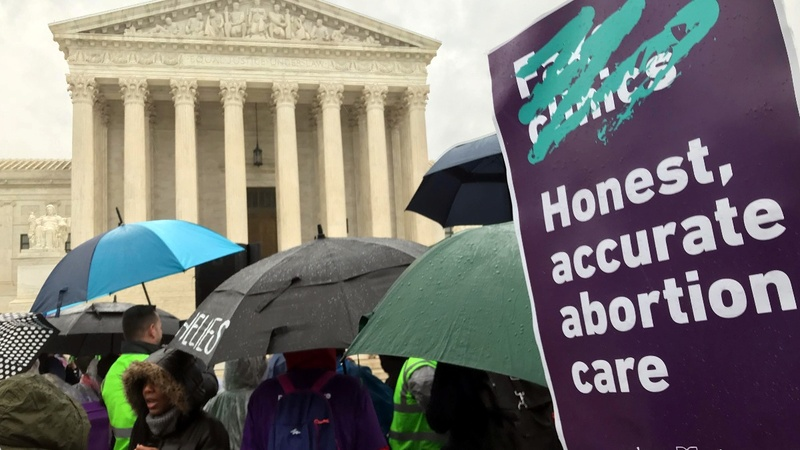 Court wary of CA law telling clinics to give abortion info