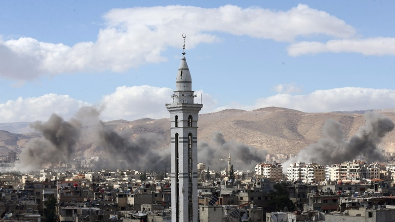 Syrian rebels agree deal to leave Ghouta