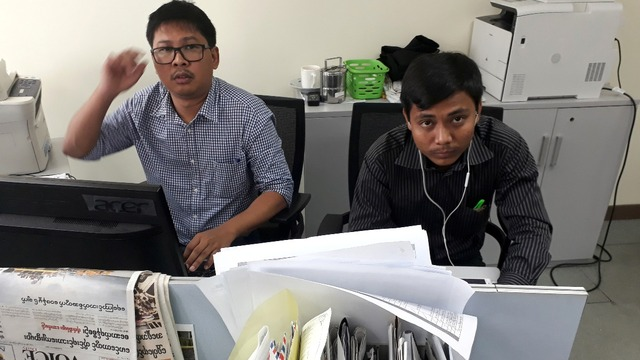 Reuters journalists detained in Myanmar for 100 days