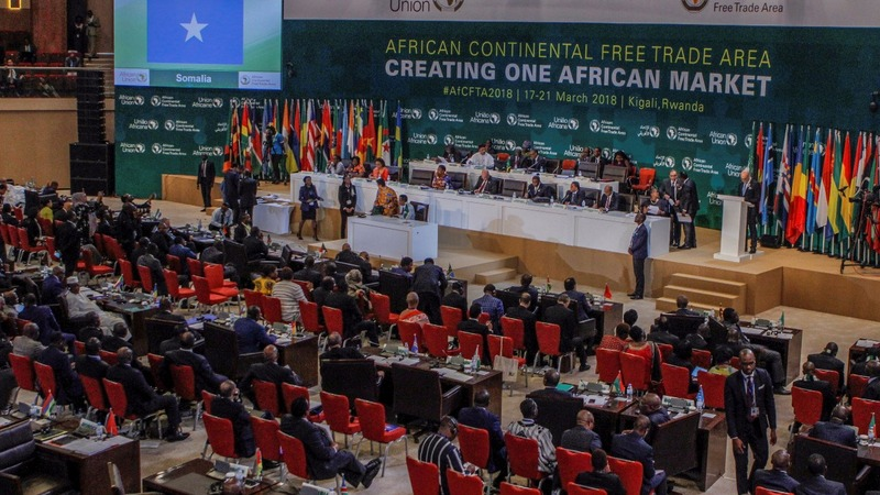 African states sign up to colossal trade bloc