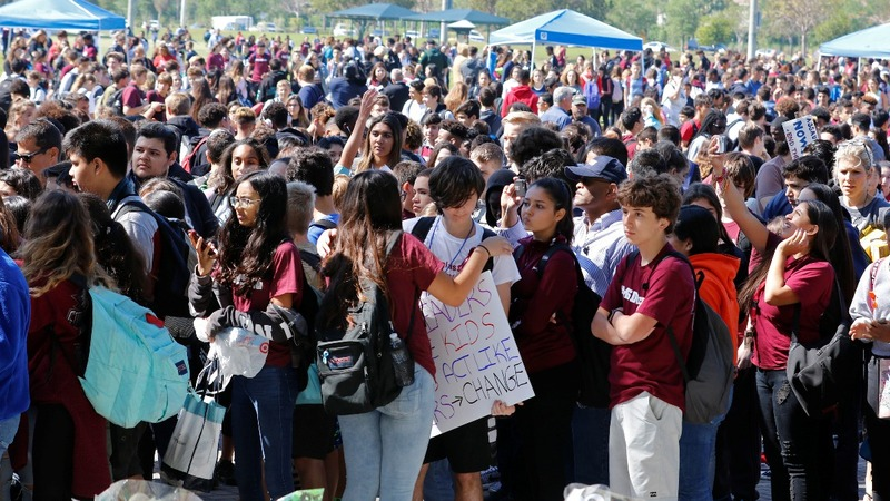 Activists hope student protesters will become voters