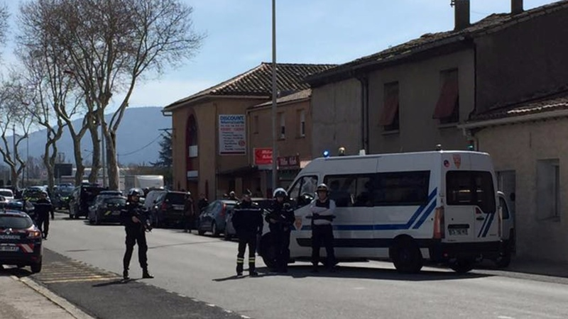 One reported dead in French hostage taking