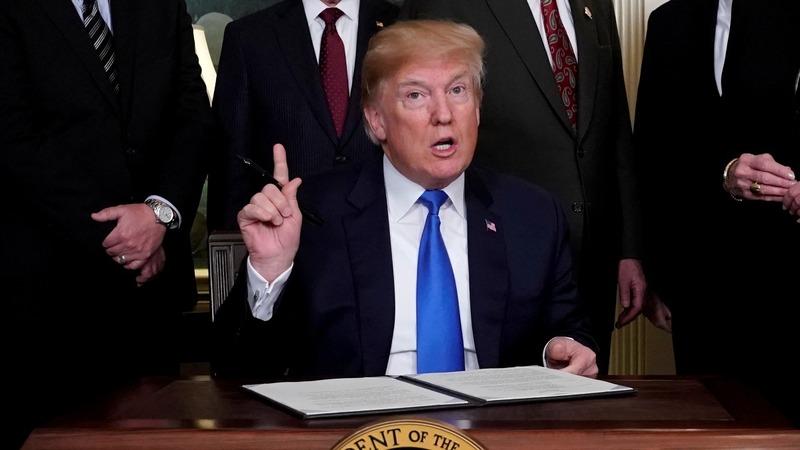Trump threatens to veto spending bill