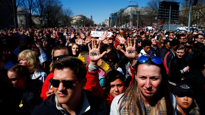 Teens lead #MarchForOurLives protests worldwide