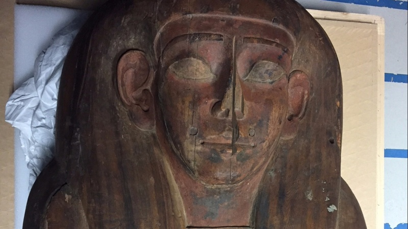 Mummy found in coffin deemed empty for 150 years