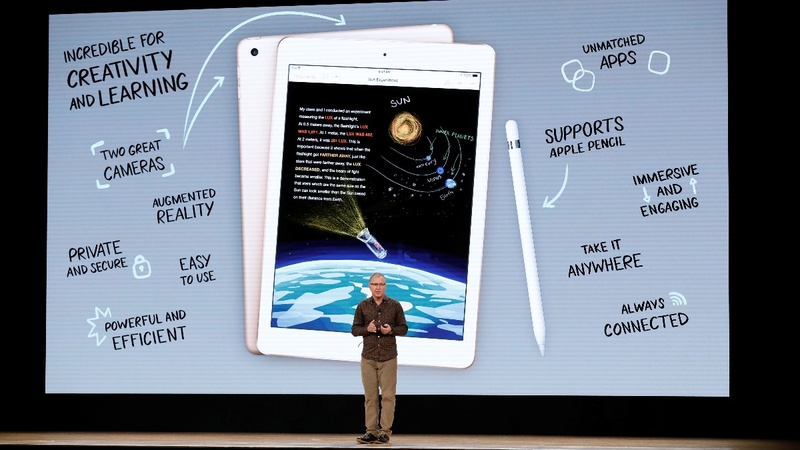 Apple goes back to school with souped-up iPads