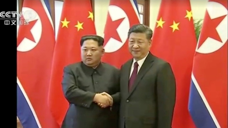 Kim Jong Un secretly met with China's Xi Jinping
