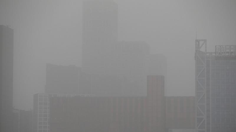 Beijing chokes in heavy dust as sandstorm blows in