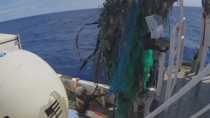 The Pacific island of plastic that keeps growing