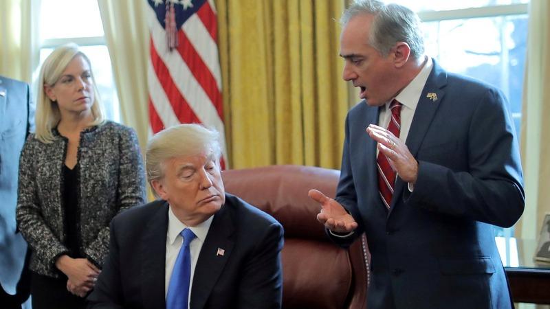 Trump ousts VA Secretary Shulkin