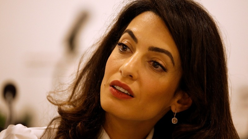 Amal Clooney to represent jailed Reuters reporters