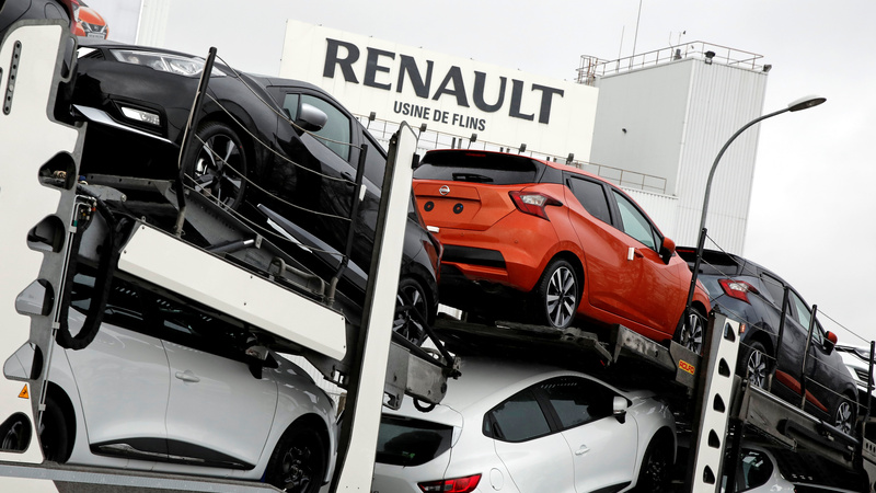 Renault, Nissan shares jump on merger reports