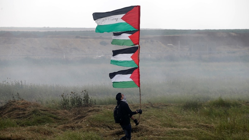 Border protest leaves 16 dead: Gaza medics