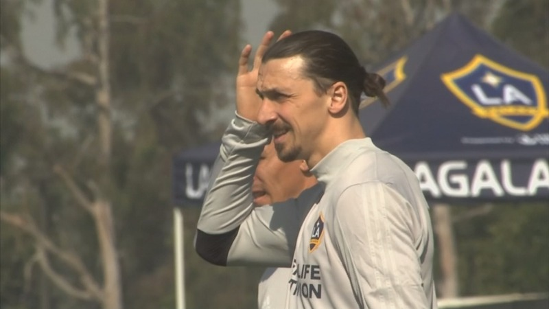 Manchester United star comes to LA: 'The lion is hungry'