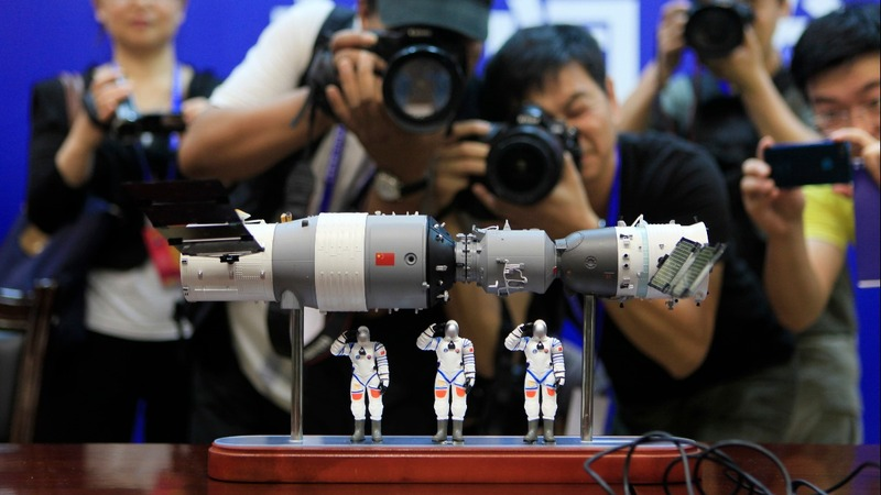 China's space lab burns up over the Pacific Ocean