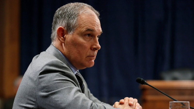 EPA chief Pruitt under pressure over lobbyist condo deal