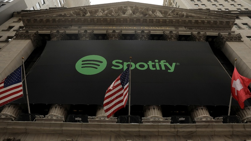 Spotify scores early hit with daring stock debut