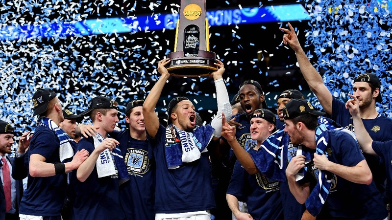 Villanova routs Michigan in NCAA championship