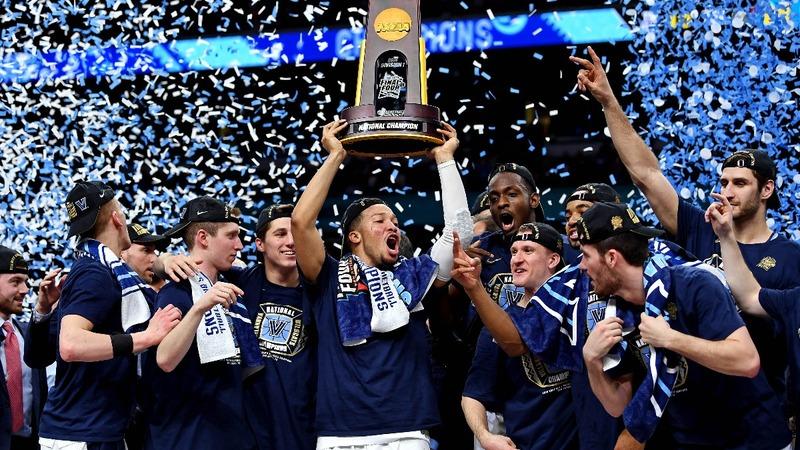 Villanova routs Michigan in NCAA championship